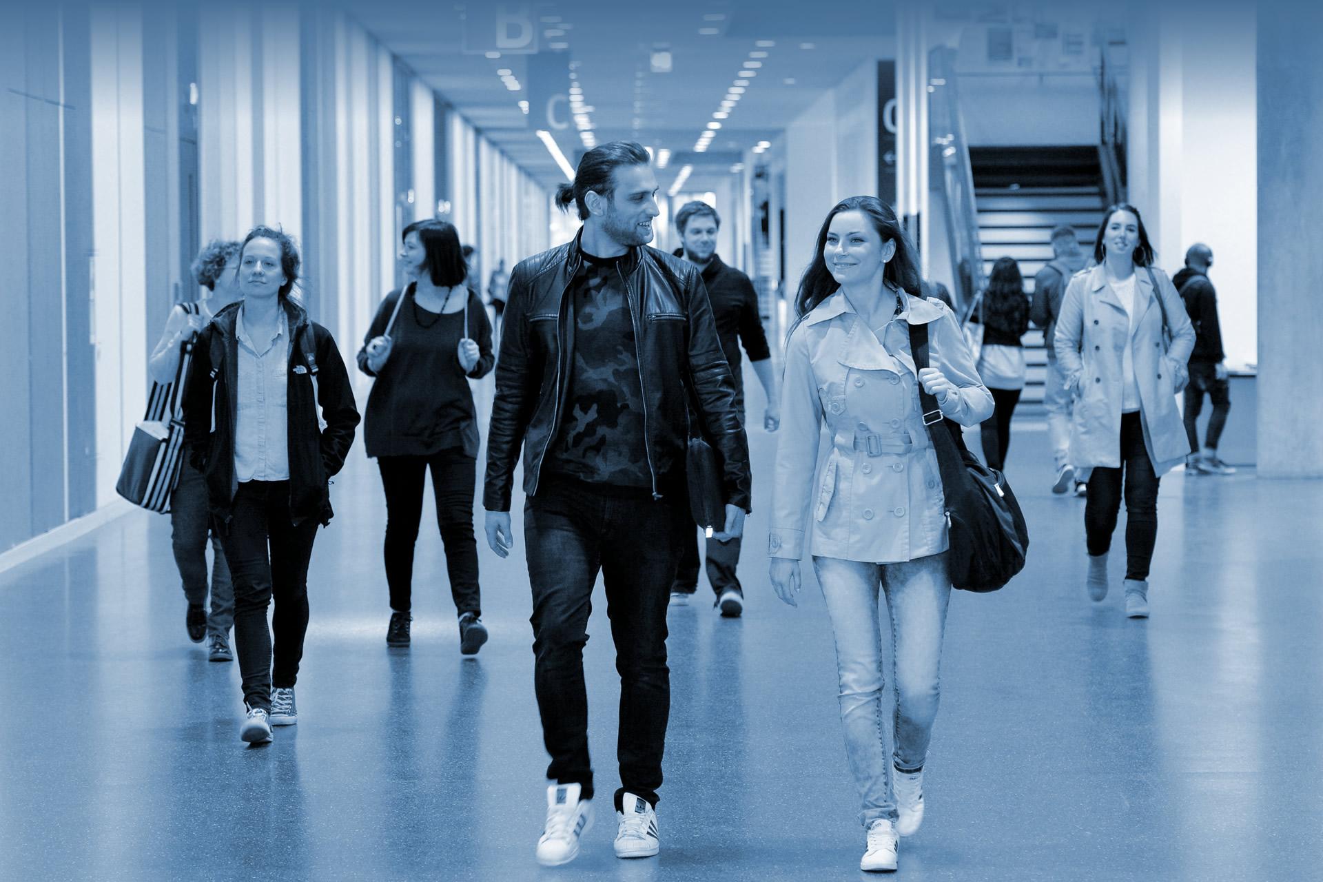 Studierende in der Hochschule
